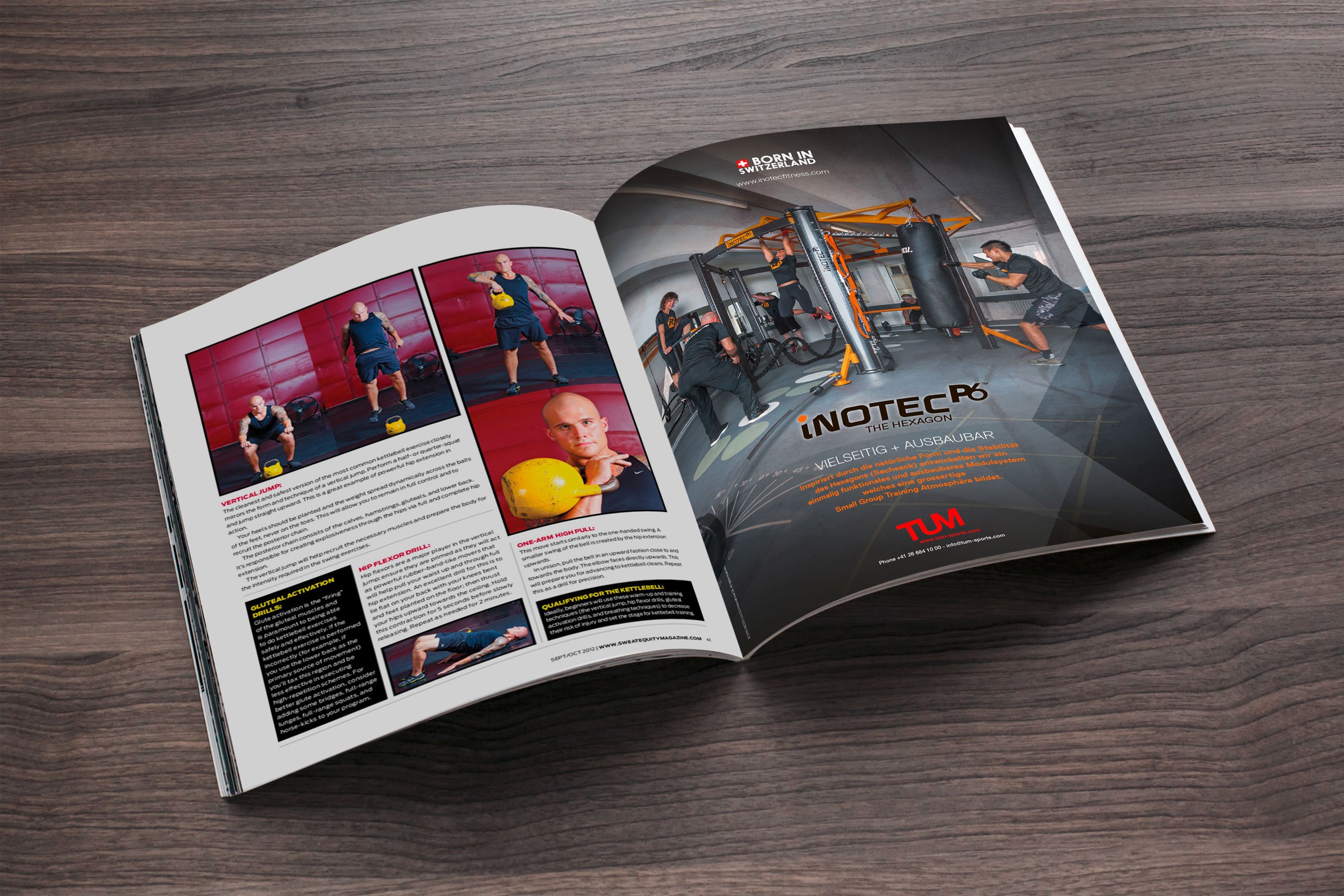 Frank R - campagne annonces Inotec Fitness