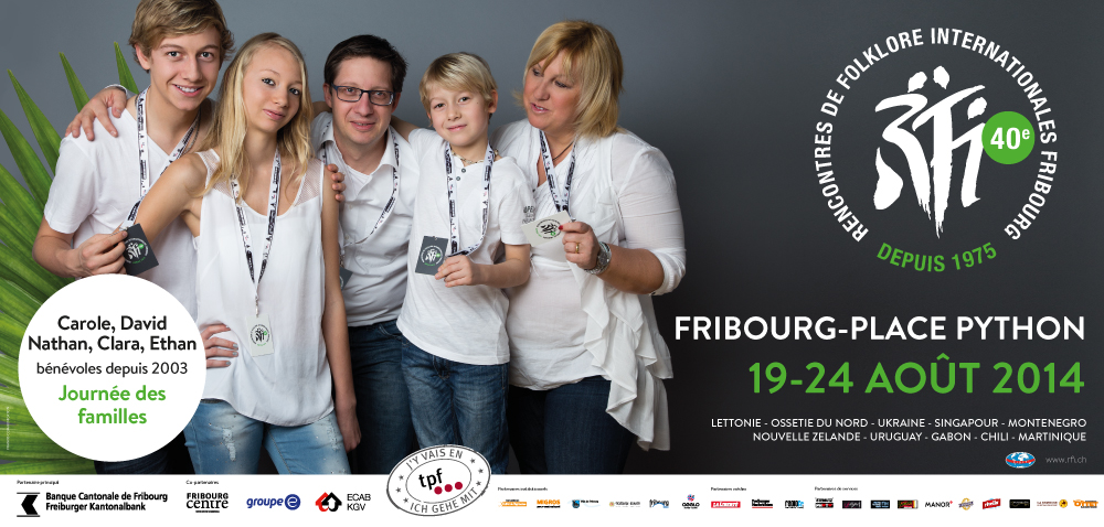 Frank R  - Campagne Communication - Rencontres de Folklore Internationales 2014